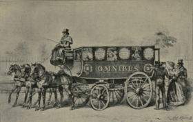 Shillibeer's first omnibus