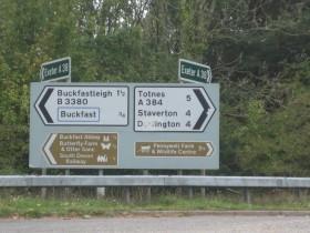 Buckfast sign