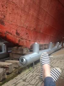 feet and hull