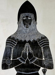 BrassRubbing Praying Knight